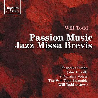 Passion Music / Jazz Missa Brevis [CD] USA import