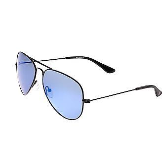 Sixty One Honupu Polarized Sunglasses - Black/Blue