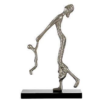 Premier Haushaltswaren ergänzen Aluminium MDF Silber Mutter & Kind Figur