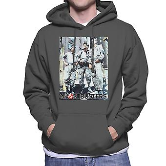 Ghostbusters Spengler Stantz & Venkman Photo Men's Hooded Sweatshirt