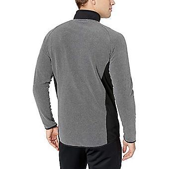 Peak Velocity Män & apos Standard Polar Fleece Athletic-Fit Jacket, Medium Grey He...