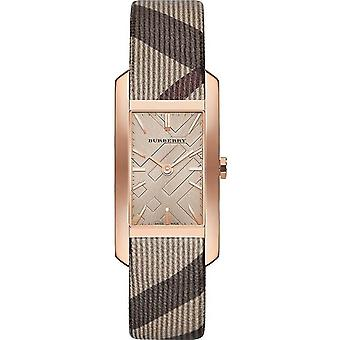 Burberry BU9408 Square Case Rose Gold Tone Women-apos;s Watch