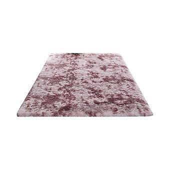 PV Pile Tie Dye gedruckt weichen Teppich dunkel rot 60x120cm