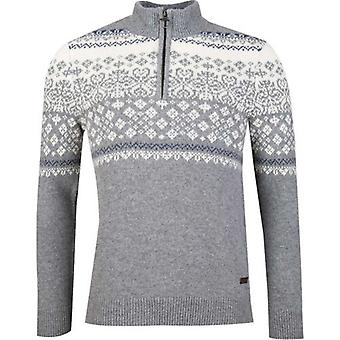 Barbour Fairisle Half Zip Knit