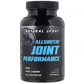 Natural Sport, AllSoothe, Joint Performance, 120 VegCaps