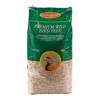 Johnston & Jeff Premium Wild Bird Mix - 6kg