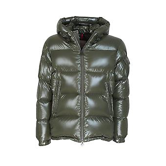 Moncler 1a5450068950833 Men's Jaqueta verde nylon down