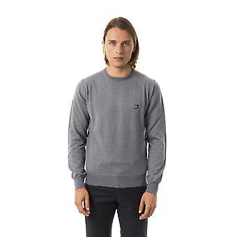 Uominitaliani Gri Sweater UO816618-S