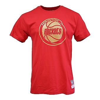 Mitchell & Ness Midas Tee Houston Rockets BMDBW19104HRORED1 universal summer men t-shirt
