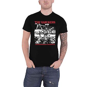 The Varukers T Shirt Another Religion Band Logo new Official Mens Black