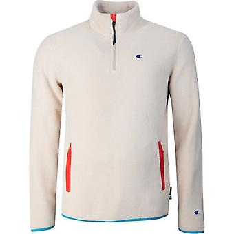 Champion Reverse Weave Polotech Half Zip Fleece