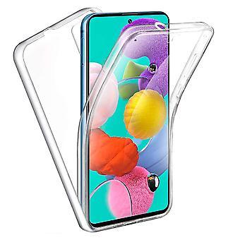 Samsung Galaxy S10 Lite - 360 Full Body Gjennomsiktig Gel Shell