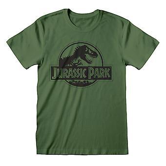 Jurassic Park Unisex Adult Yksivärinen T-paita