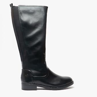 Heavenly Feet Racquel Ladies Tall Boots Black