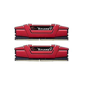 G Compétence 16Go Dual Channel Kit Pc4 19200 Ddr4 2400Mhz Rouge