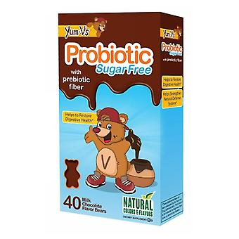 Yum-V's Probiotic SF with Fiber, W 40 CT