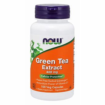 今食品緑茶エキス, 400 mg, 100 キャップ