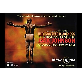 Unforgivable Blackness The Rise and Fall of Jack Johnson Movie Poster Print (27 x 40)