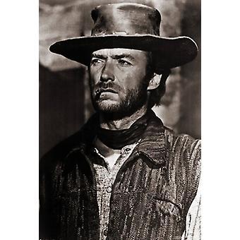 Clint Eastwood Movie affisch Skriv (27 x 40)
