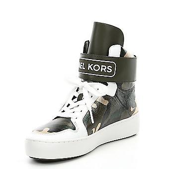 Michael Michael Kors damskie Trent skórzane hight Top koronki up Fashion sneakers