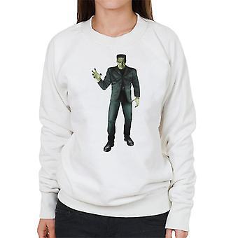 Frankenstein Monster Pose Frauen's Sweatshirt