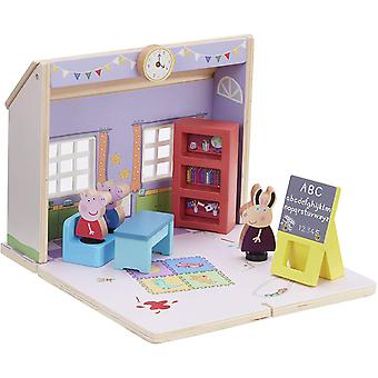 Peppa Pig, Wooden Toy - School
