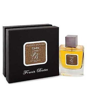 Franck Boclet Cedre By Franck Boclet Eau De Parfum Spray 3.4 Oz (men) V728-543661