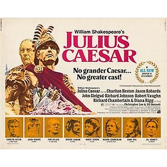 Julius Caesar-Filmplakat (17 x 11)