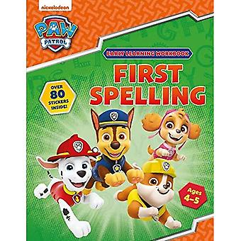 Primeira Ortografia (Idades 4 a 5 anos; PAW Patrol Early Learning Sticker Workbook)