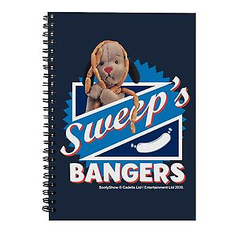 Sooty Sweeps Bangers Spiral Notebook