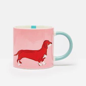 Joules Dog Mug, Pink
