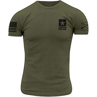 Grunt Style Army - Perus t-paita - Military Green