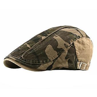 Golf Beret Cap, Adjustable, Sunshade Cotton Hat Outdoor Sports