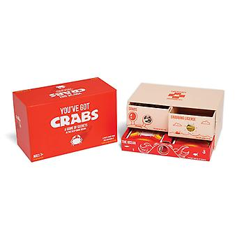 You've got crabs by exploding kittens - a card game filled with crustaceans and secrets - family-fri