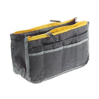 Inserción de bolsa para maleta Gris