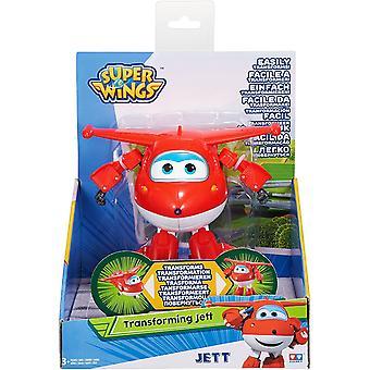 AULDEY Super Wings Transforming Vehicle - JETT