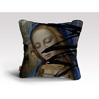 Blue cushion/pillow