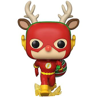 Funko POP Vinyl Heroes: DC Holiday - Rudolph Flash
