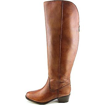 INC International Concepts Womens Beverley Leather Almond Toe Over Knee Fashion Boots