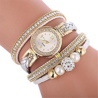 איכות גבוהה יפה אופנה נשים שעון צמיד נשים מזדמנים עגול אנלוגי