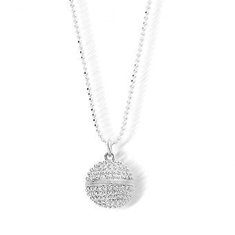 ChloBo SCDC2824 Diamant geschnitten Kette mit Dreamball Anhänger