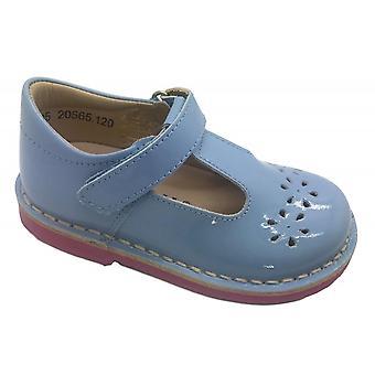 PETASIL Tbar Shoe Pale Blue Patent