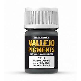 VAL73114 Vallejo Pigment - Dark Slate Grey