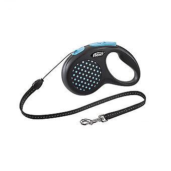 Flexi Retractable Design Dog Cord Leash, Medium size 5m, Blue