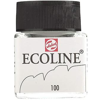 Ecoline liquid watercolour white 30ml