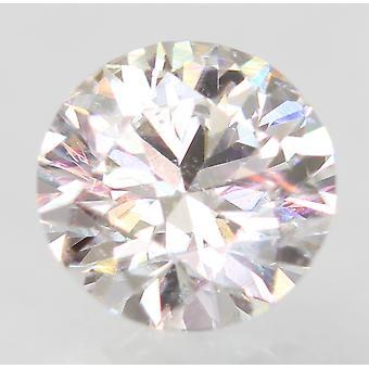 認定 0.51 カラット D VVS2 ラウンド ブリリアント エンハンスナチュラル ルーズ ダイヤモンド 5.13m