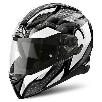 Airoh Helmet Movement S Full Face - Acero Blanco Brillo