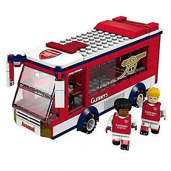 Arsenal Brick Team Bus