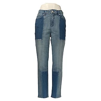 Martha Stewart Mujeres's Jeans Tobillo 5 Bolsillo Azul A351150