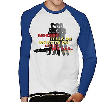Knight Rider Ingen berättar vad jag ska göra utom min bil men & apos, s Baseball Långärmad T-shirt